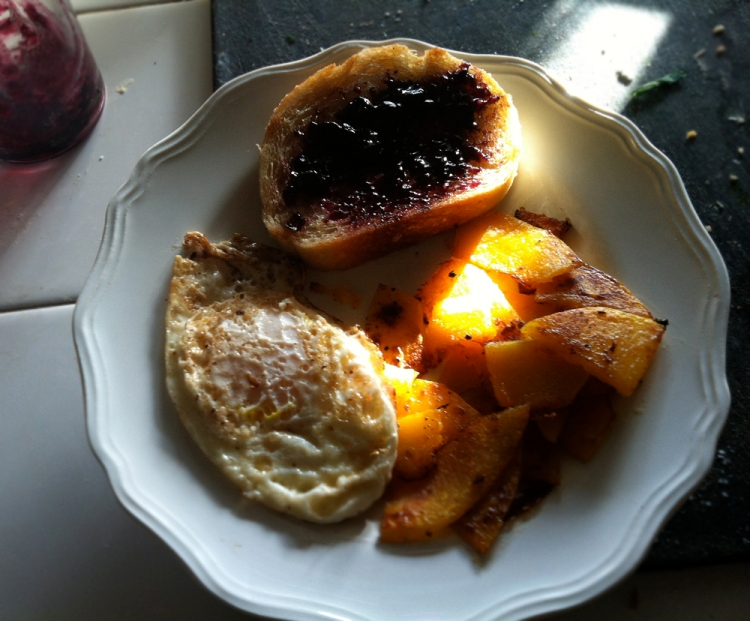 Butternut Squash Hash Breakfast